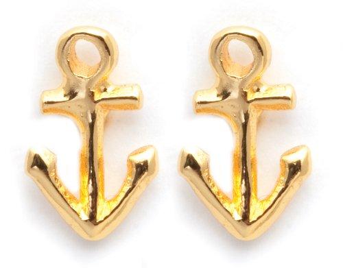 Gorjana Gold Anchor Stud Ohrringe (Gorjana Ohrringe)