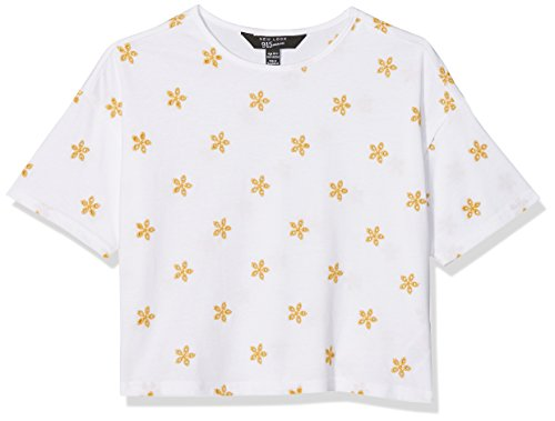 New Look Girl's All Over Contrast T-Shirt