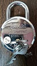 Branded IRAM Prime Padlock 65 mm 7 Steel Levers Double Locking Mechanism