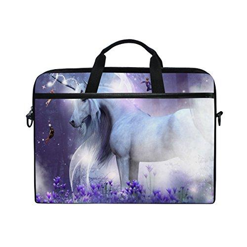 Magic Sparkles Laptop Schulter Messenger Tasche Fall Sleeve für 35,6cm zu 39,6cm mit verstellbarer Notebook Schultergurt ()