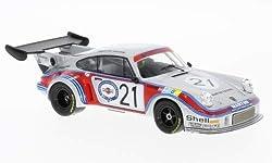 Unbekannt Porsche 911 Carrera RSR 2.1 Turbo, No.21, Martini Racing Team, Martini, 24h Le Mans, 1974, Modellauto, Fertigmodell, IXO 1:43