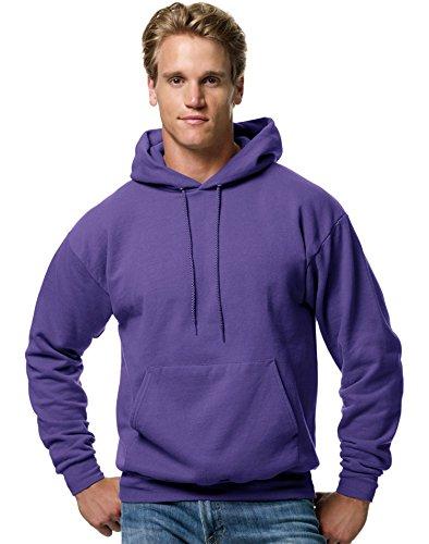 Hanes ComfortBlend® EcoSmart® Pullover Hoodie Sweatshirt 3XL Purple