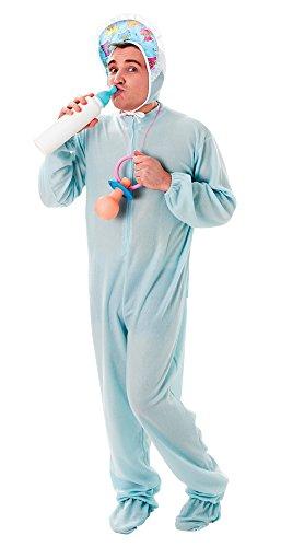 okabel Baby schlafen Anzug, Blau, Blumenkasten (Baby-kostüm-ideen Für Erwachsene)