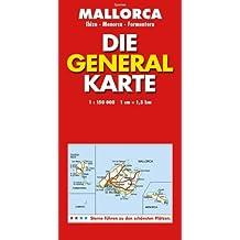 Mallorca. : Die General Karte, 1/175 000