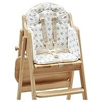 East Coast Nursery Ltd Ltd Highchair Insert, Grey Stars