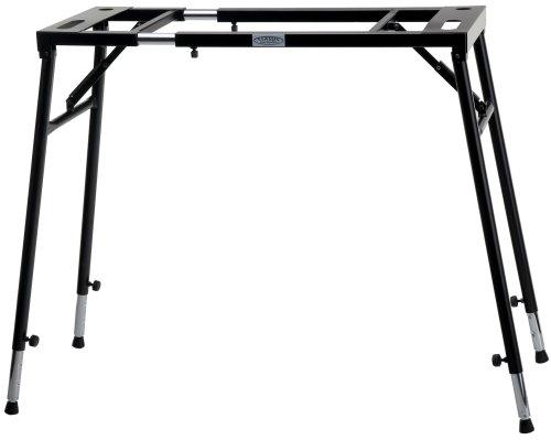 Classic-Cantabile-KS-KT-Keyboardstnder-E-Piano-Stativ-Mixer-Turntable-Klapp-Tisch-Laptop-Halter-verstellbar-in-Hhe-und-Breite