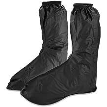 KT suministro para hombre botas de agua, suelas para zapatos, impermeable, antideslizante, lluvia botas calzado de Golf, protector, adulto., negro