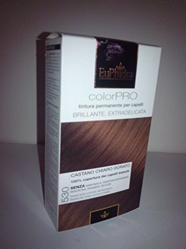 Tintura per capelli - CASTANO CHIARO DORATO - EuPhidra