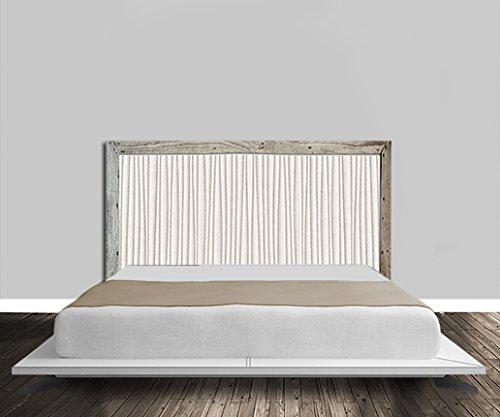 Cabecero de cama, diseño de imitación de madera