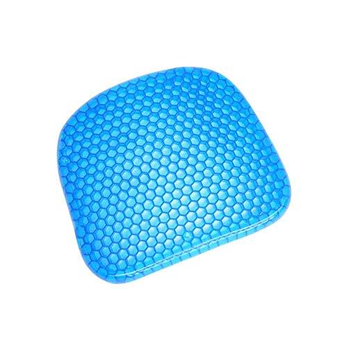 Dreamlife Gel Enhanced Seat Cushion - Rutschfestes orthopädisches Gel & Memory Foam-Steißbeinkissen gegen Schmerzen im Steißbein - Bürostuhl-Autositzkissen - Ischias- und Rückenschmerzen lindern