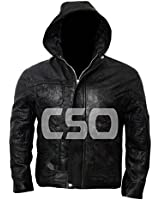 ZR STYLE Tom Cruise Mission Impossible 4 Hooded Leather Jacket