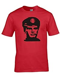 Naughtees clothing - Captain Scarlet T-shirt. You can see the strings but he's still indistuctable! For classic tv aficionados.