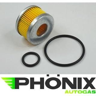 Phoenix Autogas Filter Certools F-701 Reparatur-Set Flüssigphase Gasfilter für LPG KME Stag etc.