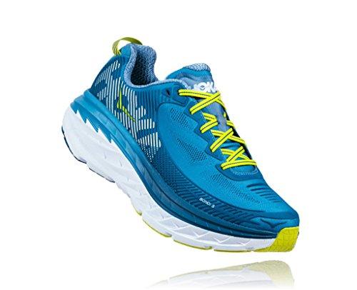 HOKA one one BONDI 5 BLEUE Chaussures de running