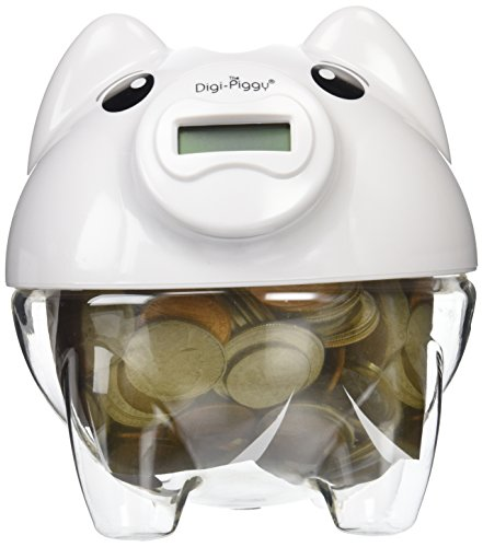 The Digi-Piggy Digital Coin Counting Bank by Cisco Sales