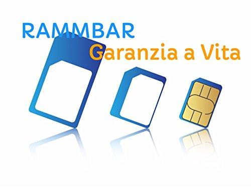 Adaptador Nano SIM para Micro a Nano tarjeta SIM to Standard Card 5  in 1  Todo Talla SIM Adapter el iPhone 5 5S 4S 4  incluye adaptadores para todos