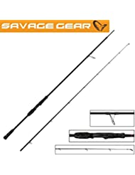 Savage Gear Black Savage Spin 220cm 20–60g Spin Canne à pêche, Spin Canne, Canne pour Hecht, empereur, truite & Zander, Hecht Canne à pêche, Sandre Canne à pêche