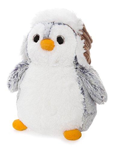 Pompom Pinguin mit Hut, 28 cm (Pinguin Hut)