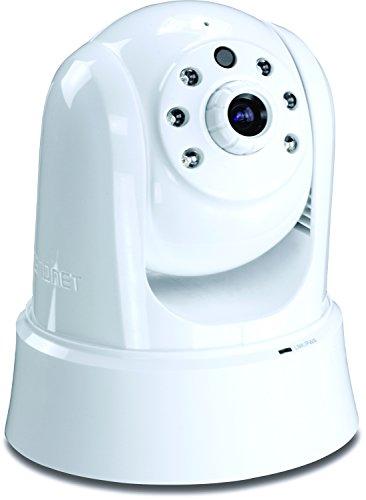 TRENDnet Megapixel 720p HD PoE Tag/Nacht PTZ Netzwerk Kamera, Schwenken und Neigen & Zoom, Nachtsicht bis zu 7.5 Meter, Aufzeichnungen auf Micro SD Karte oder einem NAS, 2-Wege Audio, kostenlose Mobile App, TV-IP662PI
