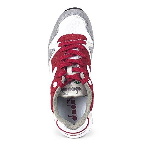 Diadora Unisex-Erwachsene V7000 Nyl Ii Sneaker Low Hals Rot