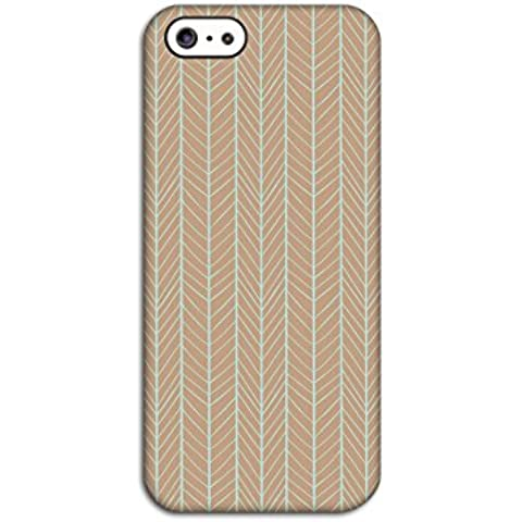 Brown Patterned Back Case for Apple iPhone