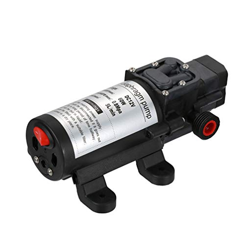 Membran-schalter (Starall 12 V 60 Watt Micro Elektrische Membran Wasserpumpe Mit Schalter für Auto Waschen Garten Bewässerung)