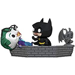 Funko- Pop Vinyl: Movie Moment 80th: Batman and Joker (1989) Figura de Vinilo, (37250)