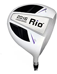 pgm Unisex 2016 Rio Mango de grafito, Golf maderas Driver de golf, color negro/blanco, loft 11.5 degrees, Right
