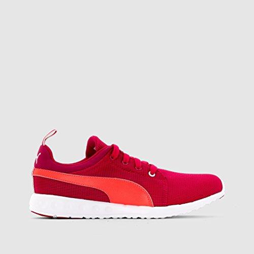 Puma Carson Run Junior, Chaussures de Running Compétition Mixte Enfant Rose Red/Peacoat