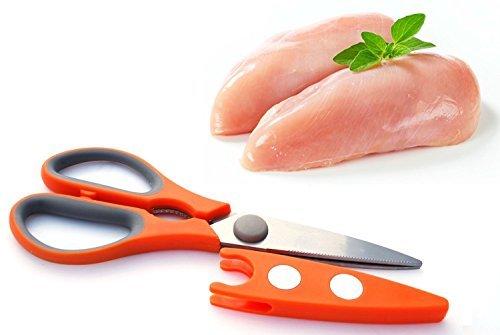 fuerte-resistente-mango-suave-multiusos-utilidad-aves-de-corral-pollo-cocina-tijera-tijeras-con-fund