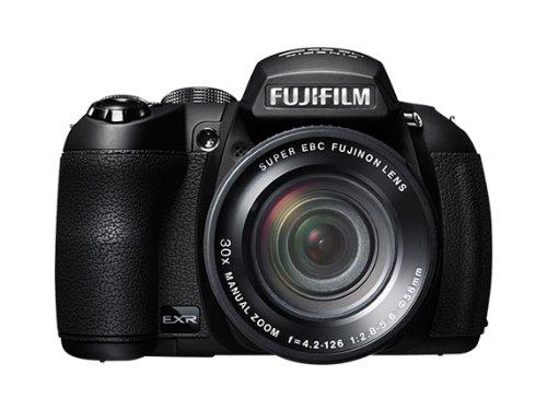 Fujifilm FinePix HS25EXR Digitalkamera (16 Megapixel, 30-fach opt. Zoom, 7,6 cm (3 Zoll) Display, bildstabilisiert) schwarz
