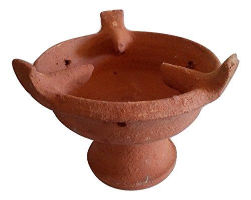 Tajine Tagine tagin Marmite brasero Amazigh terre cuite marocain artisanal L/XL