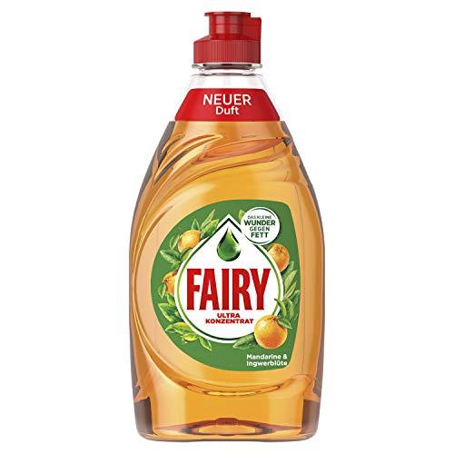 fairy ultra plus konzentrat Fairy Mandarine & Ingwerblüte Ultra Konzentrat Hand-Geschirrspülmittel 450ml, 10er Pack (10 x 450 g)
