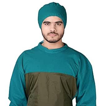 yaya Unisex Cotton Surgeon Cap (YA7502-C, Green, Free Size)
