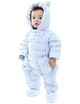 Bebone neugeborenes Baby verdeckter Winter Daune Schneeanzug mit Schuhe und Handschuhe