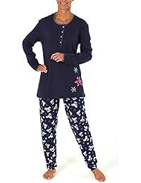 f039a460fa6547 Normann Copenhagen Süsser Damen Pyjama lang mit Bärchendruck - 261 201 ...