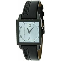 ADOLFO DOMINGUEZ 63031 WATCH LADY STEEL 50M BLACK LEATHER