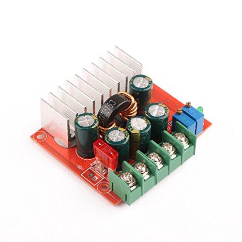 DROK® DC-DC Automatique Boostez Buck Module 8A 12V / 24V Tension constante/Voiture Courant régulé Pilote Alimentation Solaire LED 4-32V à 0.8-32V