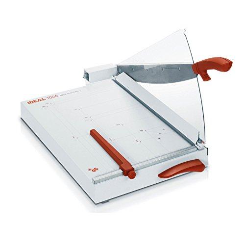 Ideal 1046 Schneidemaschine, Hebelschneider, Papierschneider bis DIN A3 (356 x 510 mm, Schnittlänge 460 mm, 30 Blatt Kapazität)