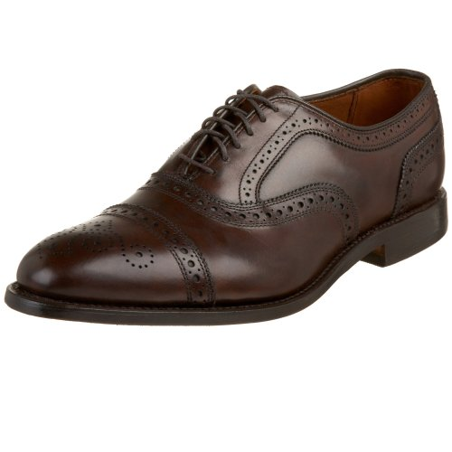 Allen Edmonds Herren 6105 Strand Dark Brown Burnished, 41 EU Allen Edmonds Cap Toe Oxfords