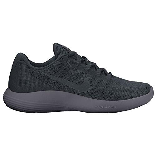 Nike Men Lunarconverge Scarpe Da Corsa Nere (noir / Antracite / Noir)