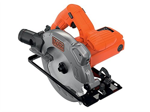 BLACK+DECKER CS1250L-GB Circular Saw, 1250 W, 66 mm - Orange, 1 Piece Best Price and Cheapest