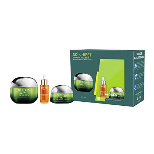 Biotherm Skin Best Set Crema da Giorno, Liquid Glow e Crema alla Notte - 70 ml