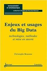 Enjeux et usages du big data : Technologies, méthodes et mise en oeuvre de Christophe Brasseur ( 10 avril 2013 )
