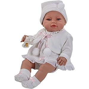 Berbesa- Recien Nacida, Color muñeca Blanca (A5102)
