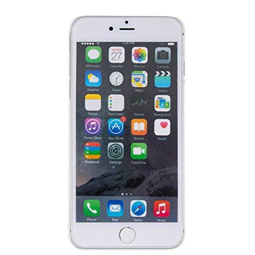 iPhone 6S Plus Hülle, iPhone 6 Plus Hülle, Gift_Source [ Gold ] harte plastik Schutz Handy Hülle Case, Creative 3D strom flüssiger durchdrungen von glitzer und sterne Hülle Case für iPhone 6S Plus/6 P E1-Gold