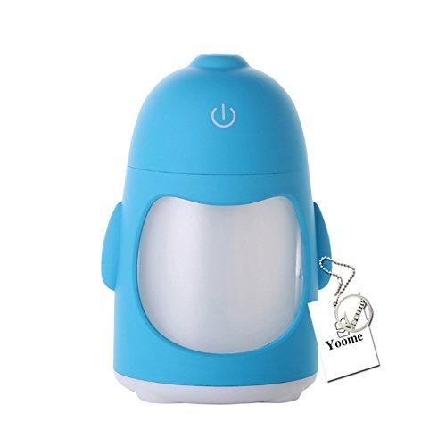 Yoome Mini Aroma Difusor de Aceite Esencial Humidificador de Niebla Fresca para Oficina Estudio en el Hogar Yoga Spa Humidificador de Coche USB