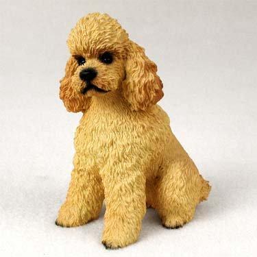 Pudel sportcut Hund Figur-Apricot -