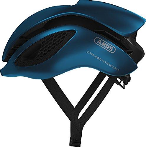 Abus Gamechanger Aero-Helm Fahrradhelm, Steel Blue, S Preisvergleich