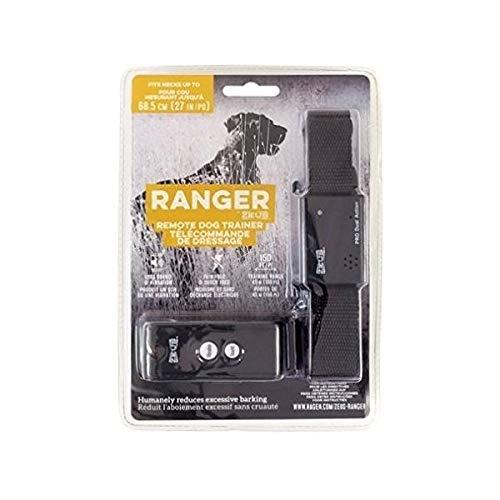 Zeus Ranger 96103 Hundetrainer, Schwarz, One Size (Remote Pet Training Kragen)